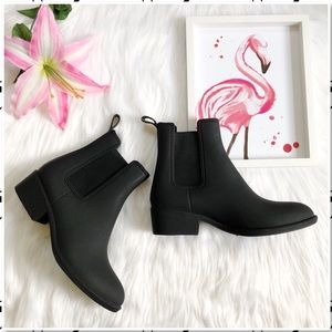 Jeffrey Campbell Forecast Chelsea Rain Ankle Boot